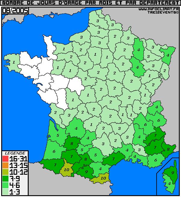 Suivi des évts météo 1994-2005 /1970-1993 pour les Charentes 0805n